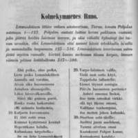 Kolmaskymmenes runo